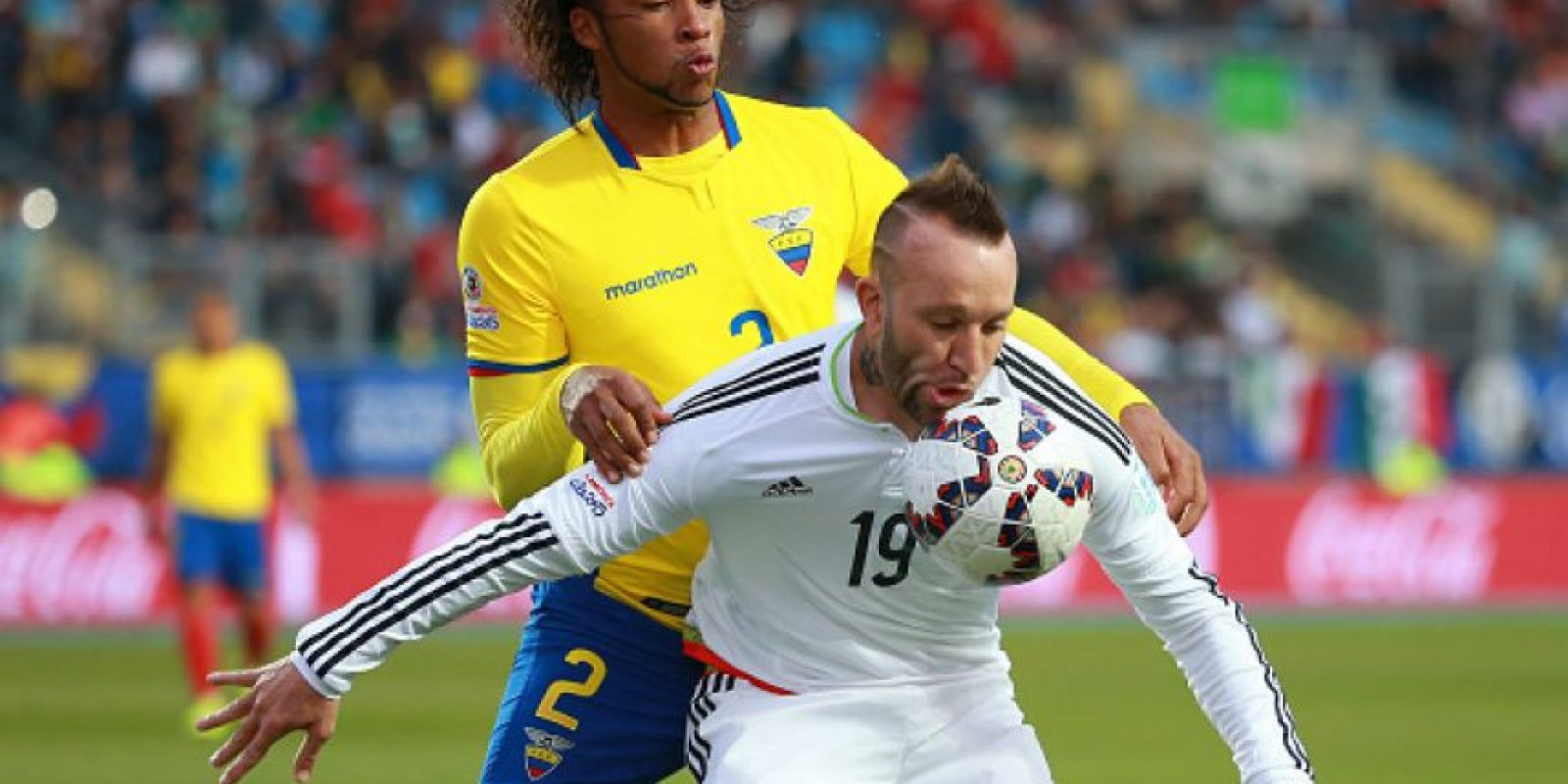 Los ecuatorianos también fueron de las selecciones más limpias del torneo con 51 faltas señaladas. Foto:Getty Images