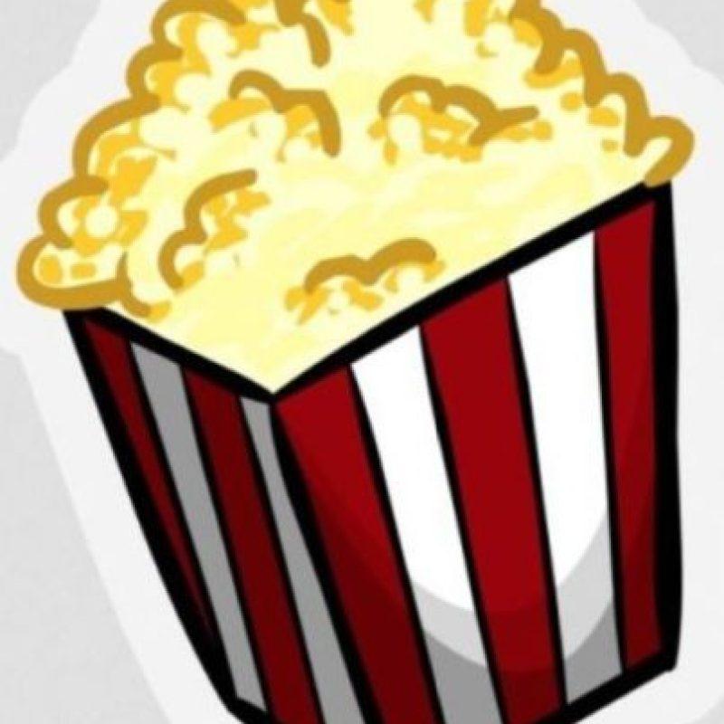 Palomitas de maíz – Snack para ver películas. Foto:emojipedia.org