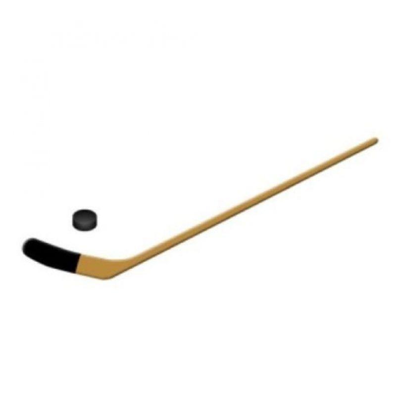 Bastón de hockey sobre hielo. Foto:emojipedia.org