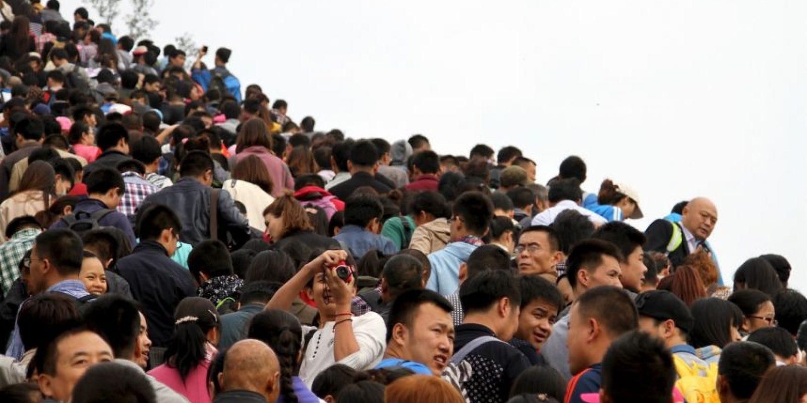 Una de las causas de su desgaste ha sido el mal trato de los turistas. Foto:Getty Images