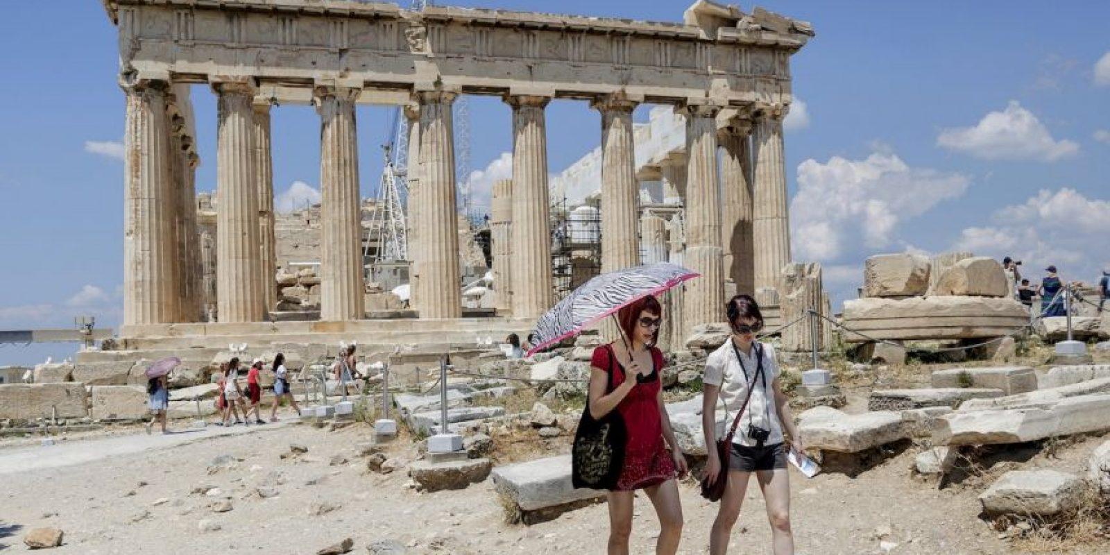 La Bolsa de Atenas permanecerá cerrada hasta el 7 de julio. Foto:AP