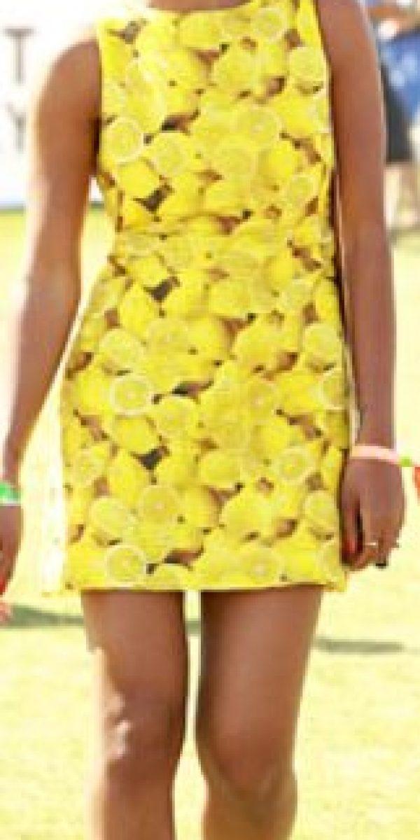 Solange, de fruta. Foto:vía Getty Images