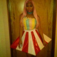 Nicki Minaj, de palomitas de maíz. Foto:vía Twitter