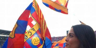 Además, la modelo ha sido vista en varias ocasiones en el Camp Nou. Foto:Vía instagram.com/joanasanz