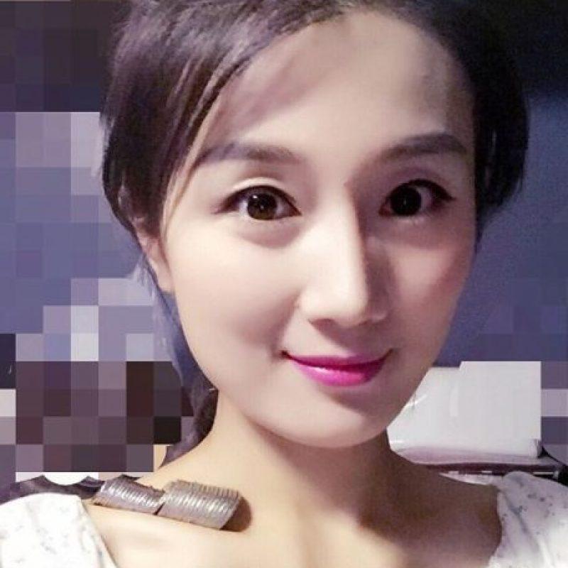 La primera fue la actriz Lv Jiarong. Foto:Vía Weibo