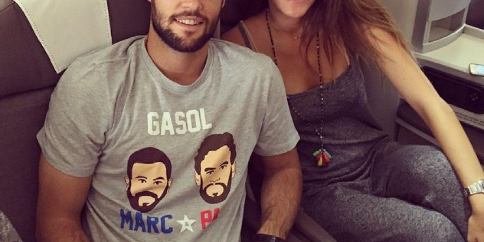 Malena Costa y Mario Suárez mantienen una relación desde 2012. Foto:Vía twitter.com/Malenacosta7
