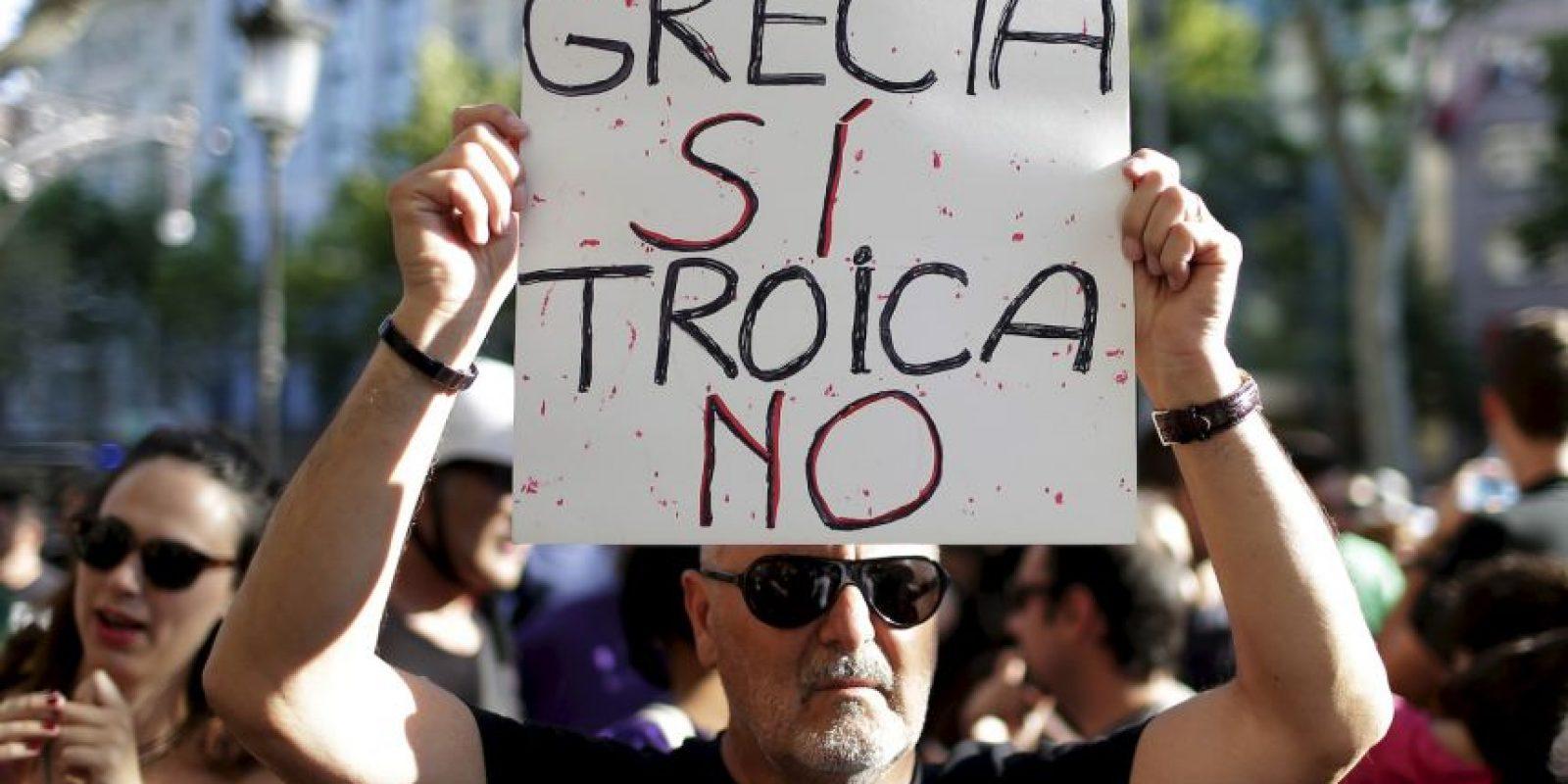 """2. Escenario intermedio. En este sentido, el Fondo Monetario Internacional declara a Grecia en situación de """"impago"""". """"Este incumplimiento permite que Grecia tenga una prórroga para pagar y por lo tanto podrían regresar a las negociaciones"""". Foto:AP"""