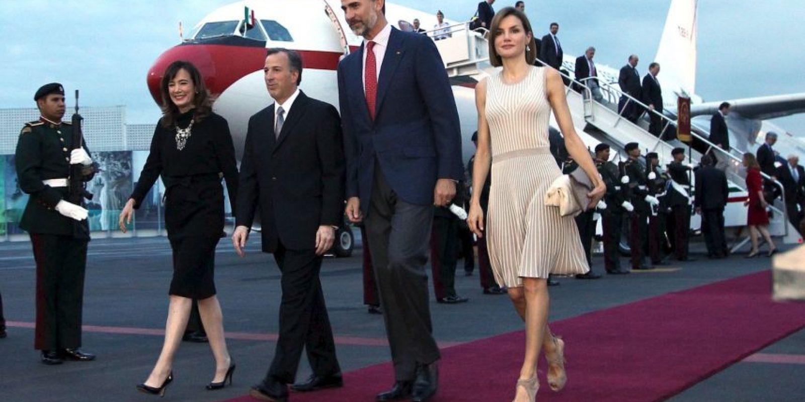 Los reyes de España estarán en México durante tres días. Foto:AFP