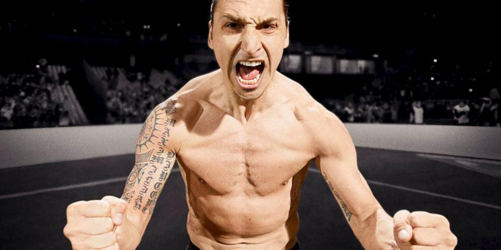 1. Zlatan Ibrahimovic Foto:Vía facebook.com/ZlatanIbrahimovic