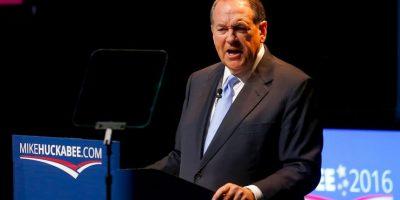 Mike Huckabee, exgobernador de Arkansas Foto:Getty Images