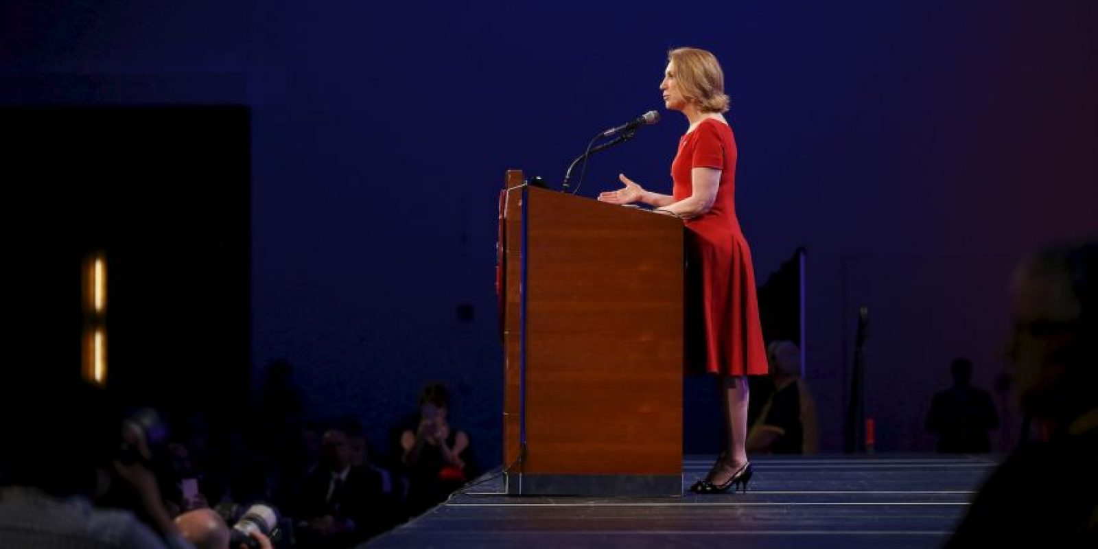 Carly Fiorina, empresaria Foto:Getty Images