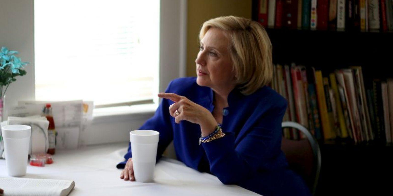 """Quiero ser presidenta"" Foto:Getty Images"