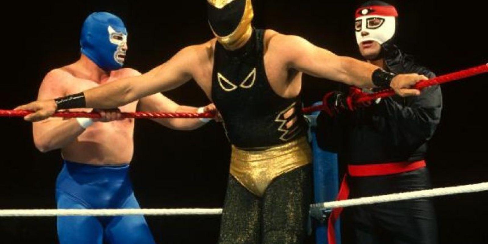 Los luchadores mexicanos Blue Demon, Tinieblas y Octagón Foto:WWE