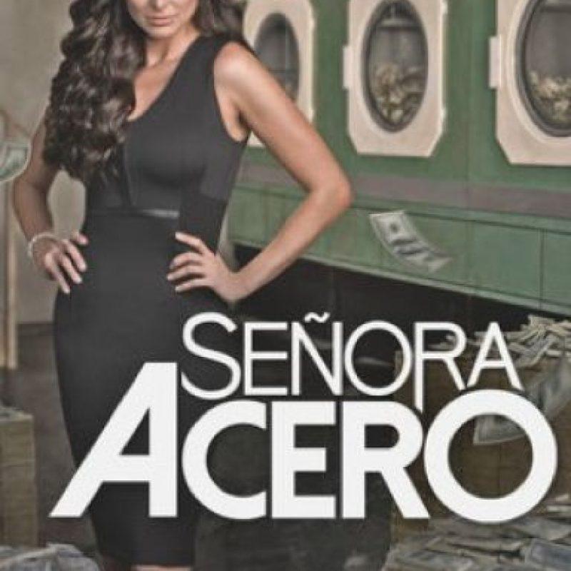 """""""Señora de acero"""" – Disponible a partir del 3 de julio. Foto:Argos Comunicación / Telemundo"""