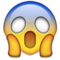 """Se puede utilizar para decir: """"No lo puedo creer"""", """"estoy incrédulo"""", """"¿es en serio?"""". Foto:emojipedia.org"""