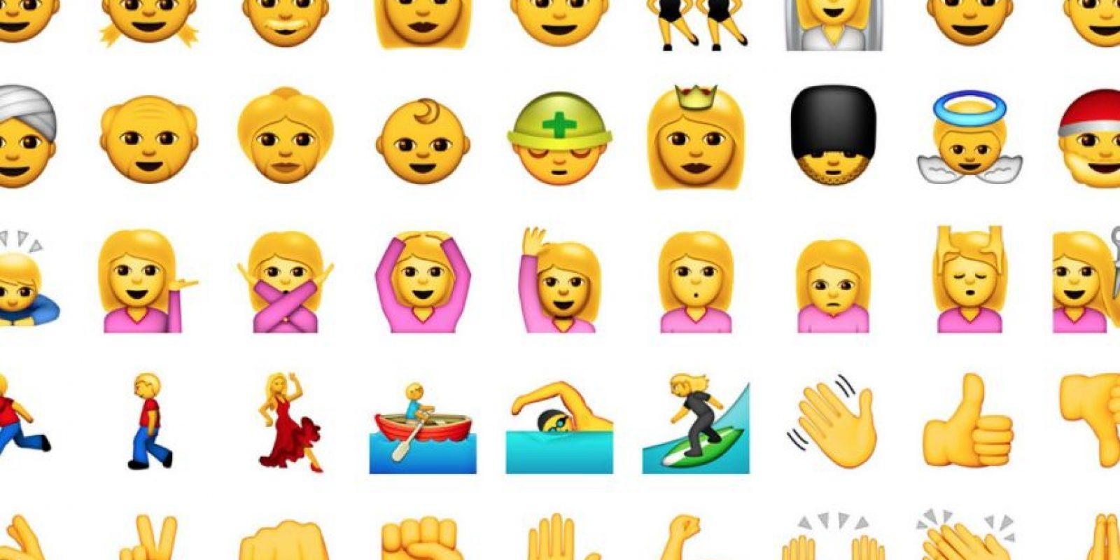 Antes de usarlos, los emojis deben pasar por un largo proceso. Foto:Pinterest