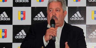 El presidente de la Federación Venezolana de Fútbol es otro miembro del Comité Ejecutivo, pero se encuentra preso en Zurich por el escándalo de la FIFA Foto:Getty Images