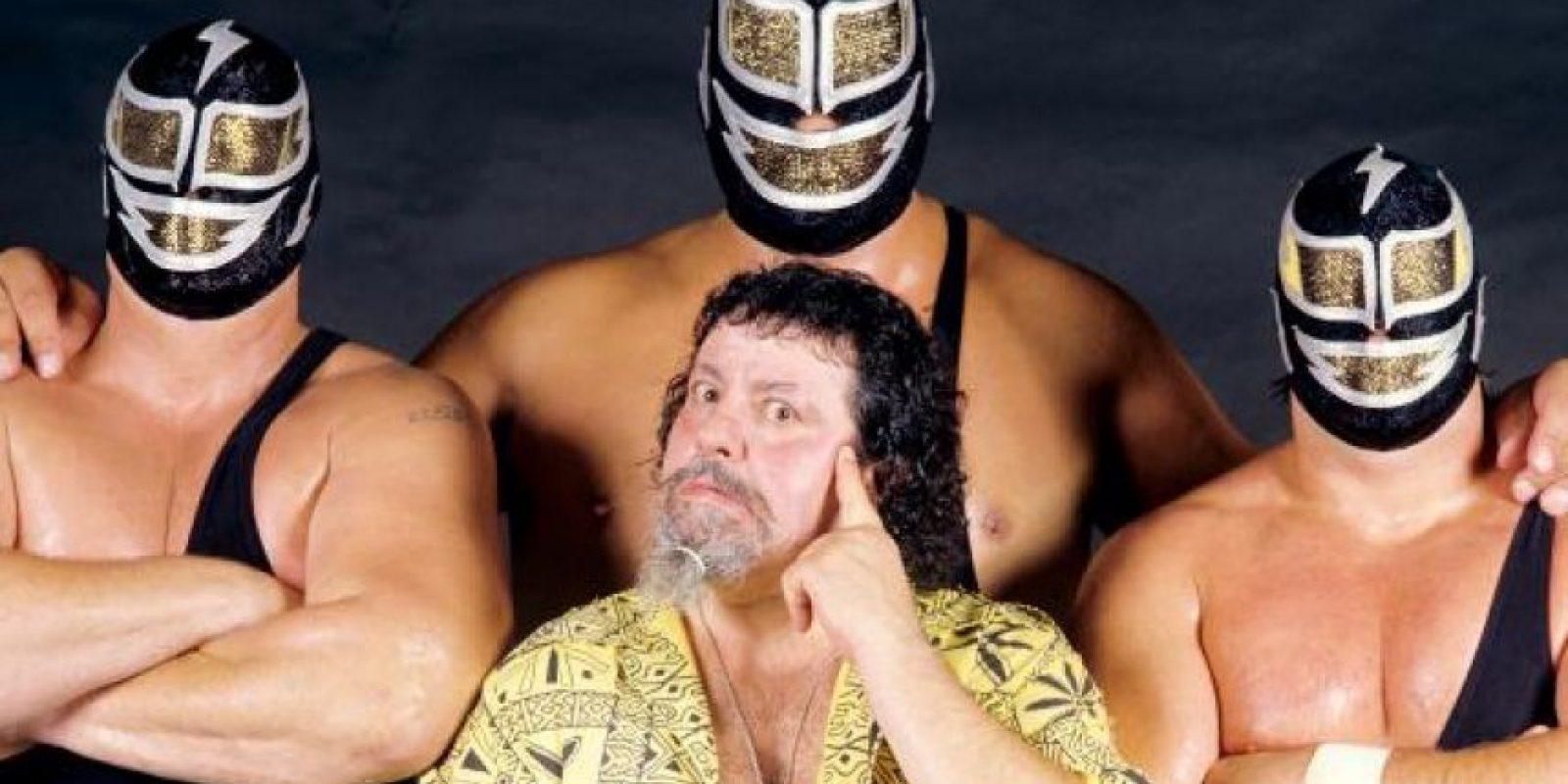 The Machines: Big Machine, Giant Machine & Super Machine. Trío formado en la década de los ochentas Foto:WWE