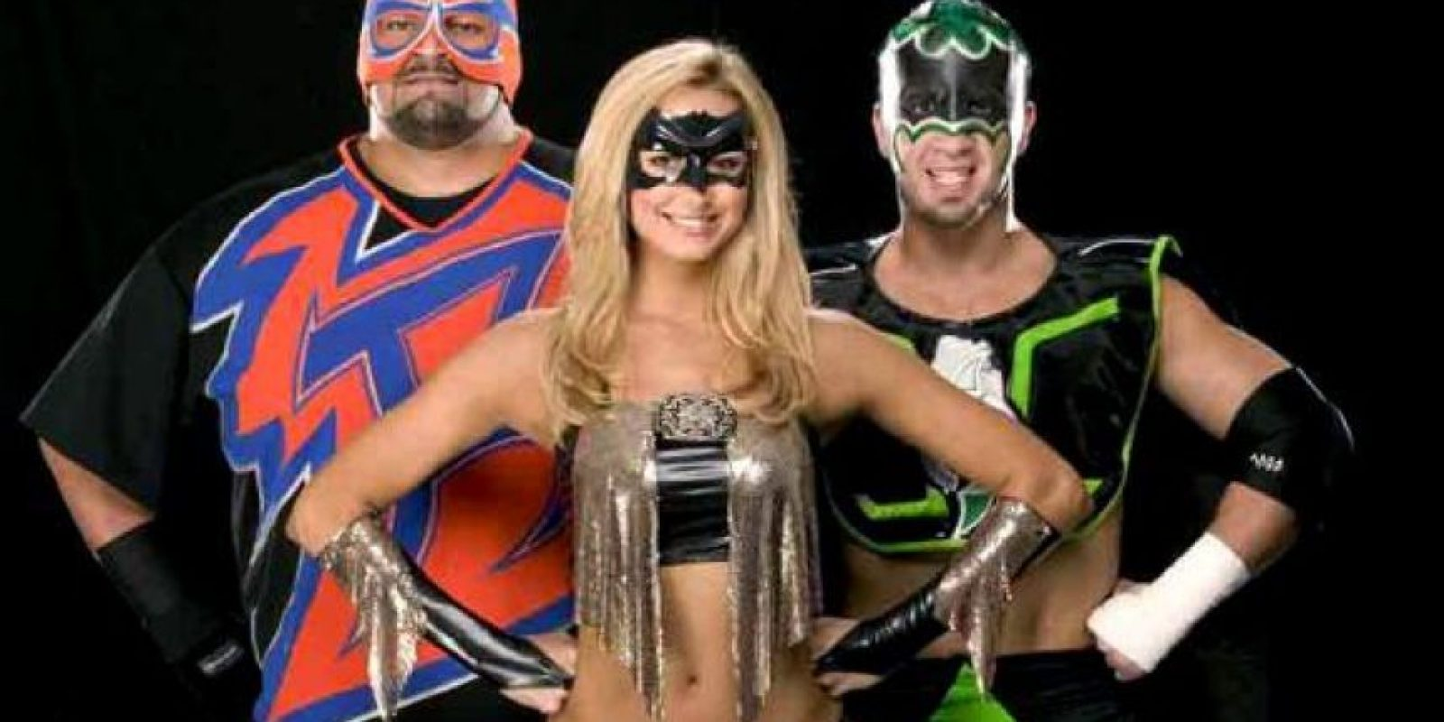 Rosey, Stacy Keibler & The Hurricane Foto:WWE