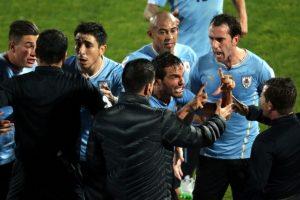 Álvaro Gónzalez, sobre la derrota de Uruguay con Chile Foto:AFP