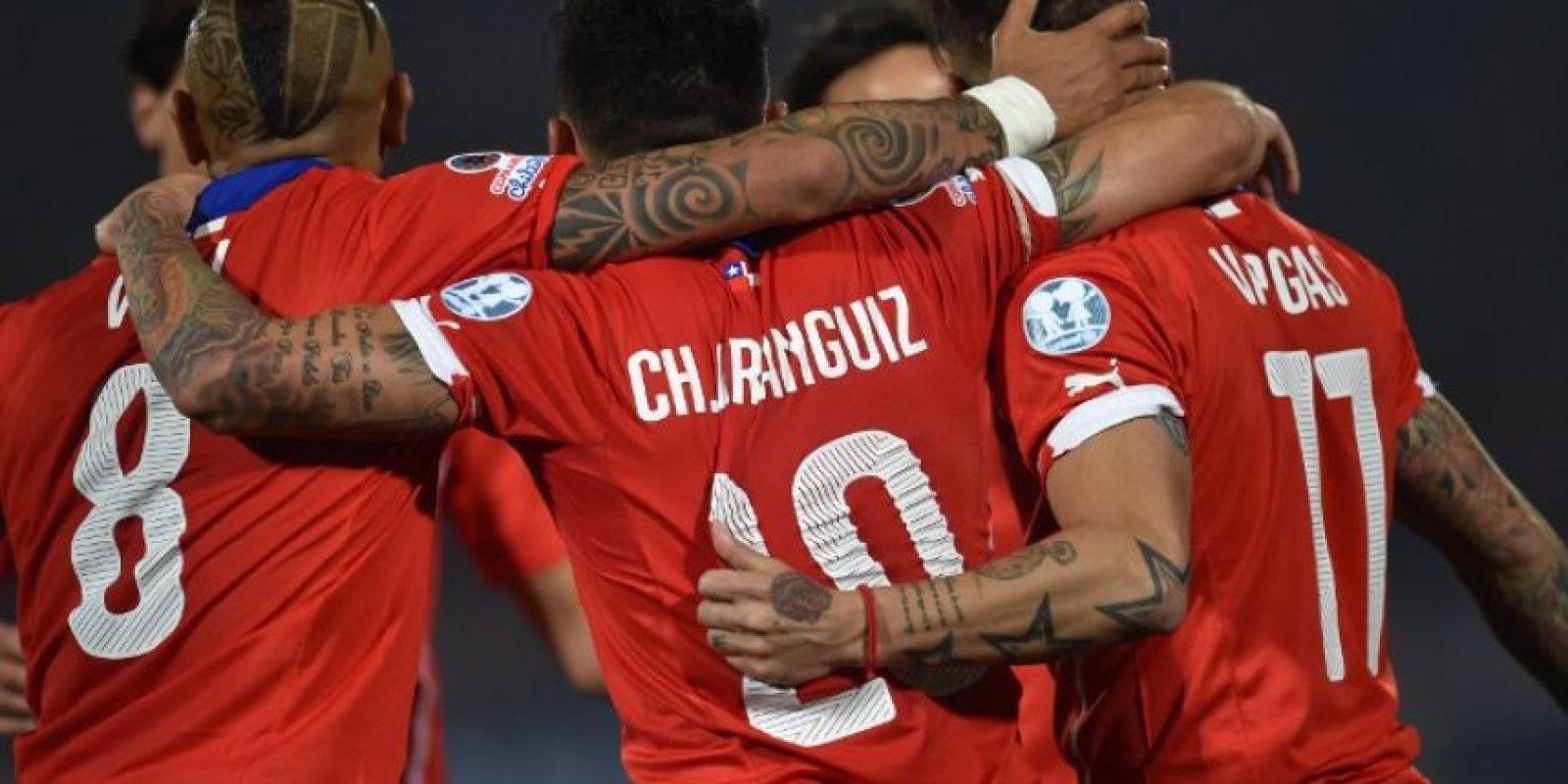 La única vez que Chile superó a Argentina fue el 15 de octubre de 2008, en un partido de eliminatoria rumbo al Mundial de Sudáfrica 2010 Foto:AFP