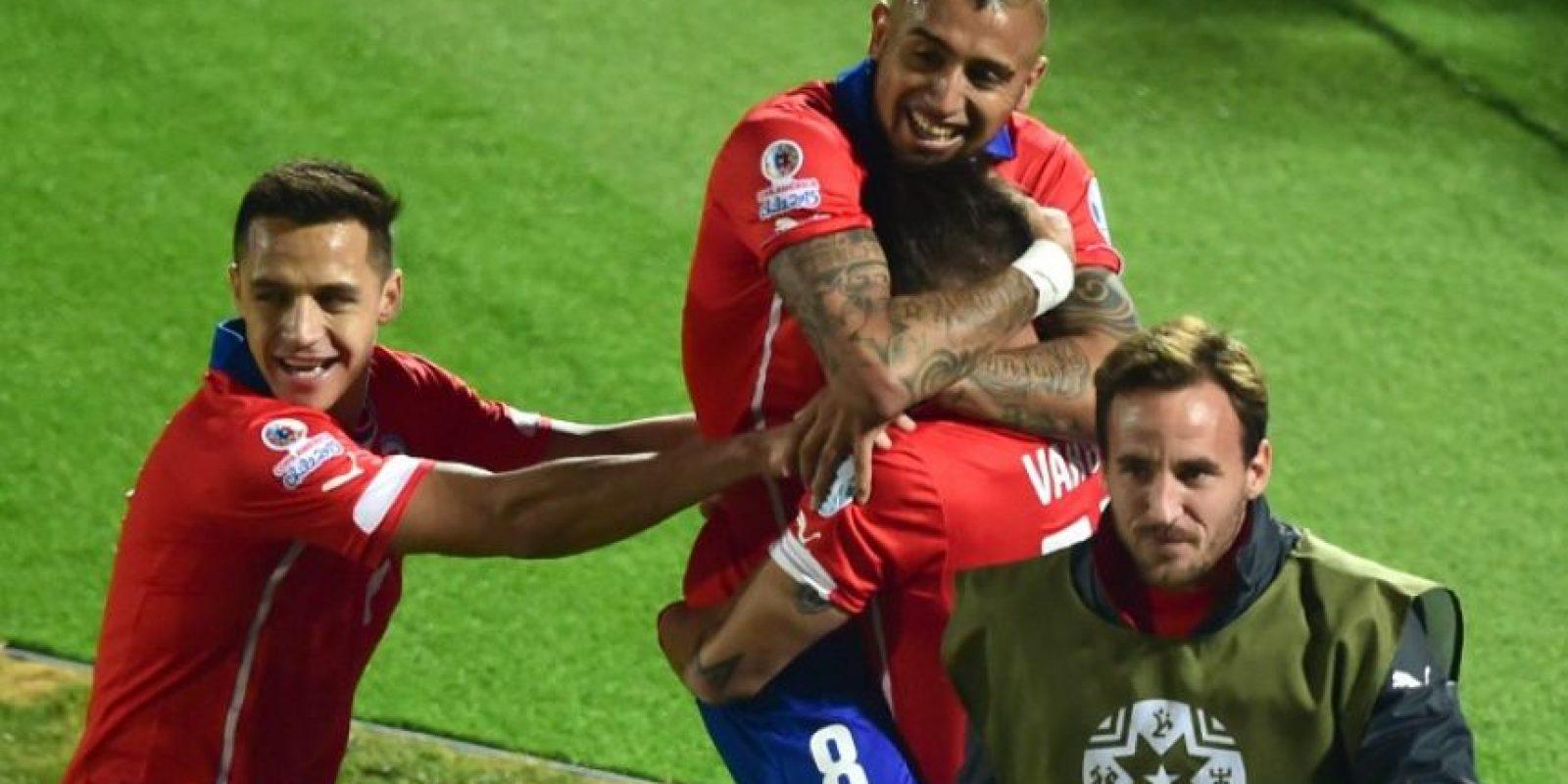 La suma de las cartas del combinado chileno es de 195.37 millones de dólares Foto:AFP