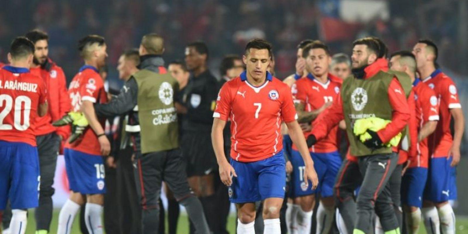 Y Chile solo ganó en una ocasión Foto:AFP