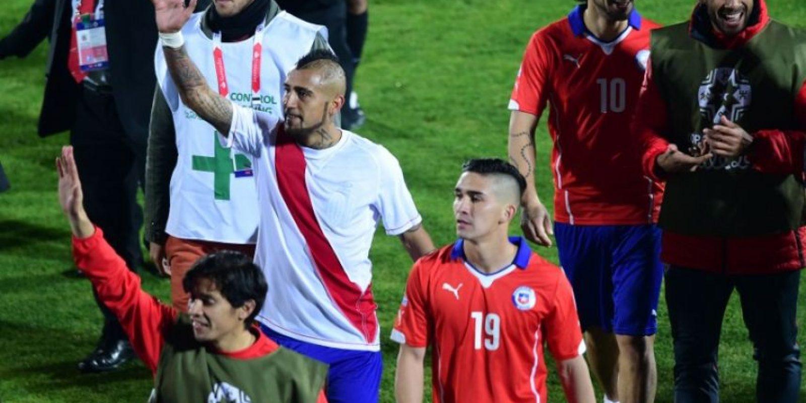 """Y Chile nunca ha ganado a la """"Albicelestre"""" en el torneo continental Foto:AFP"""