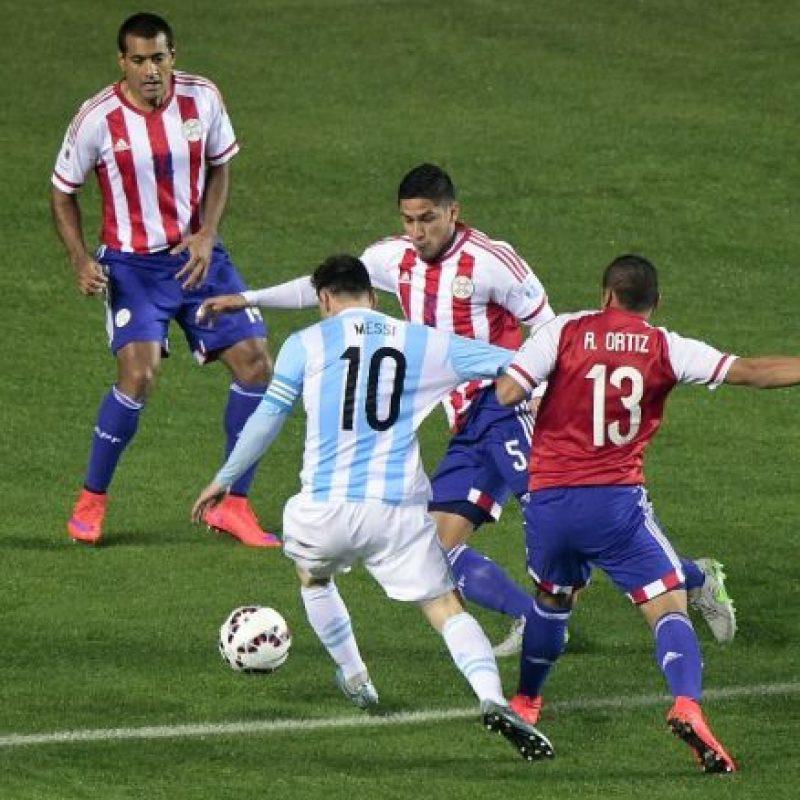 En esta Copa América solo ha marcado un gol Foto:AFP