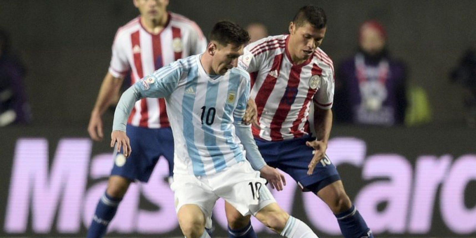 Paraguay disputará el tercer lugar contra Perú Foto:AFP
