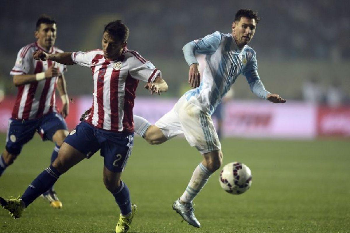 Ante Paraguay participó en las seis anotaciones de su selección Foto:AFP