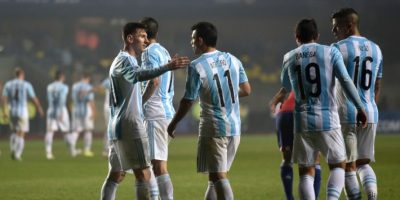 Al crack del Barcelona solo le falta conquistar un título con la selección mayor de Argentina Foto:AFP