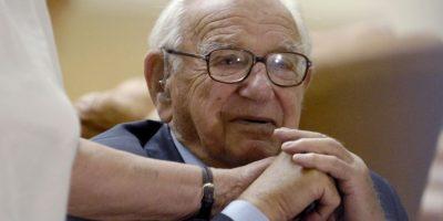 Nicholas Winton falleció a los 106 años. Foto:AFP