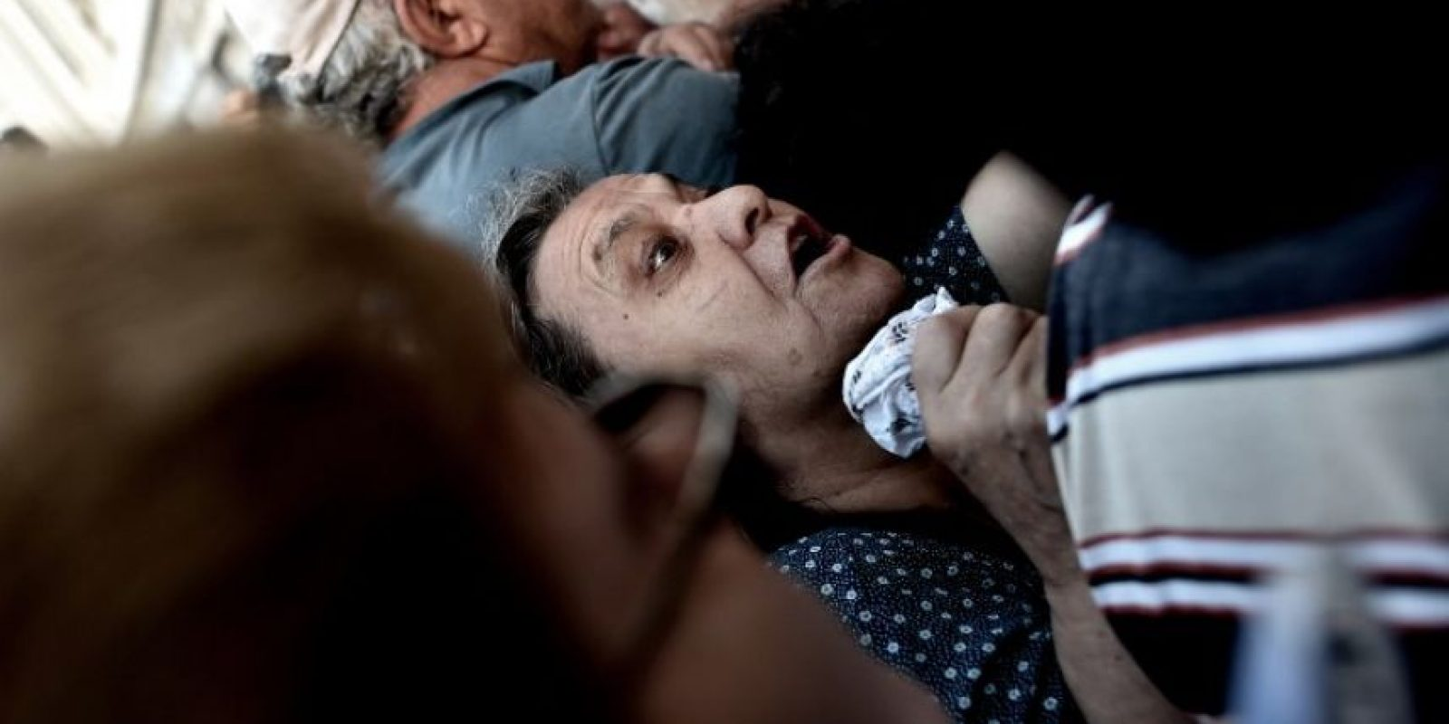 Durante este día, los pensionados griegos acudieron a cobrar sus pensiones Foto:AFP