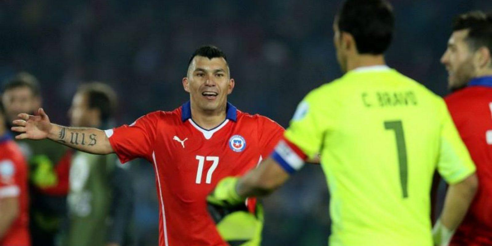 En fase de grupos, Chile empató con México y venció a Ecuador y Bolivia. Foto:Vía facebook.com/seleccionchilena