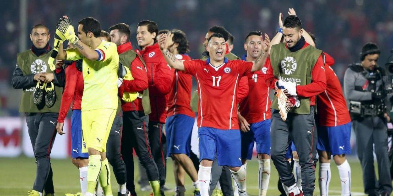 """""""La Roja"""" también sigue invicta en el torneo. Foto:Vía facebook.com/seleccionchilena"""