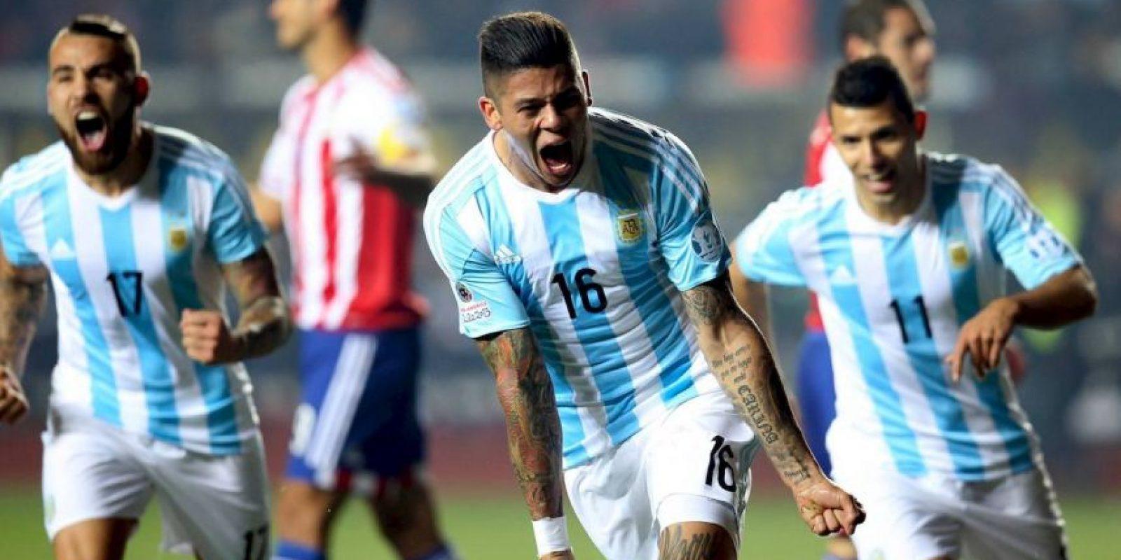 En la semifinal no tuvieron piedad de Paraguay a quien humillaron con un marcador 6-1. Foto:Vía facebook.com/AFASeleccionArgentina