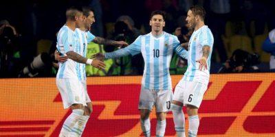 """El conjunto """"albiceleste"""" no ha perdido un solo juego en la Copa. Foto:Vía facebook.com/AFASeleccionArgentina"""