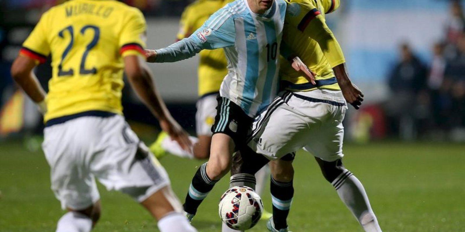 En cuartos de final empató con Colombia, pero clasificó por la vía de los penales. Foto:Vía facebook.com/AFASeleccionArgentina
