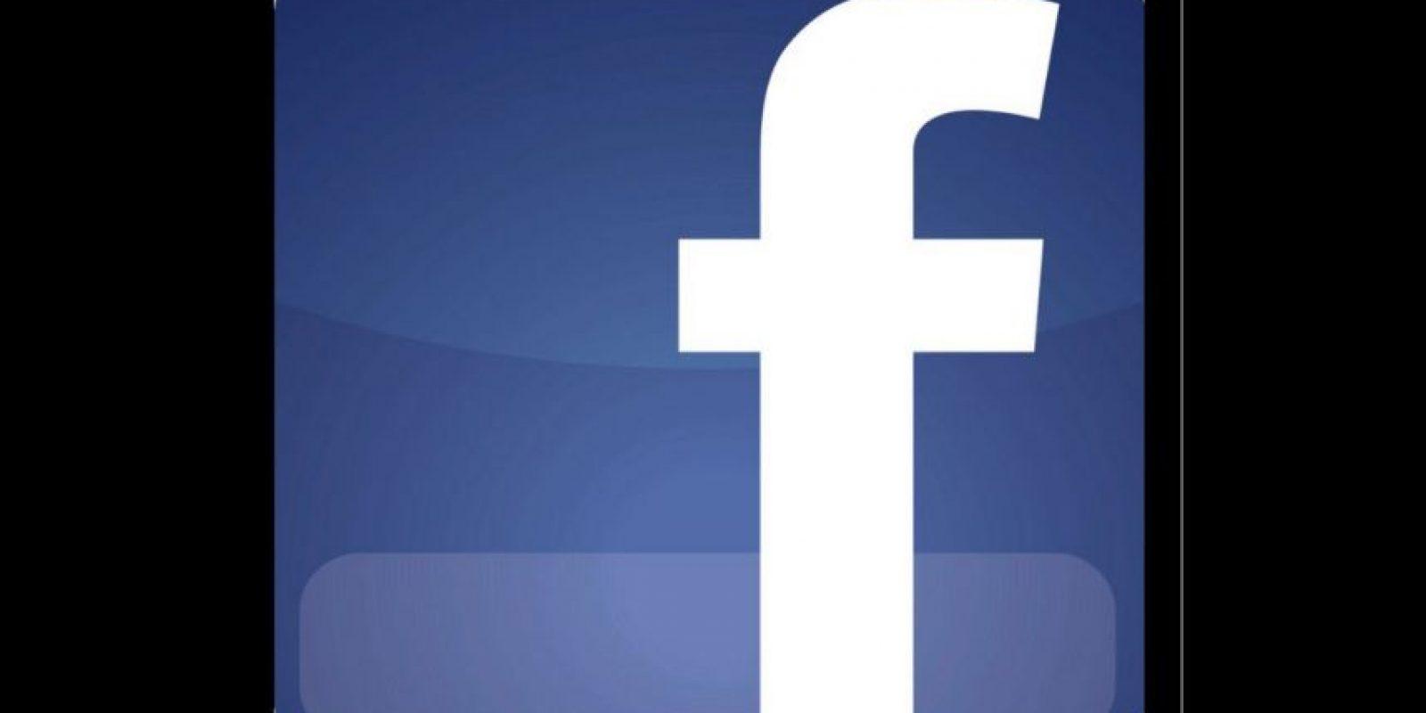 Antes: Logo de Facebook Foto:Facebook
