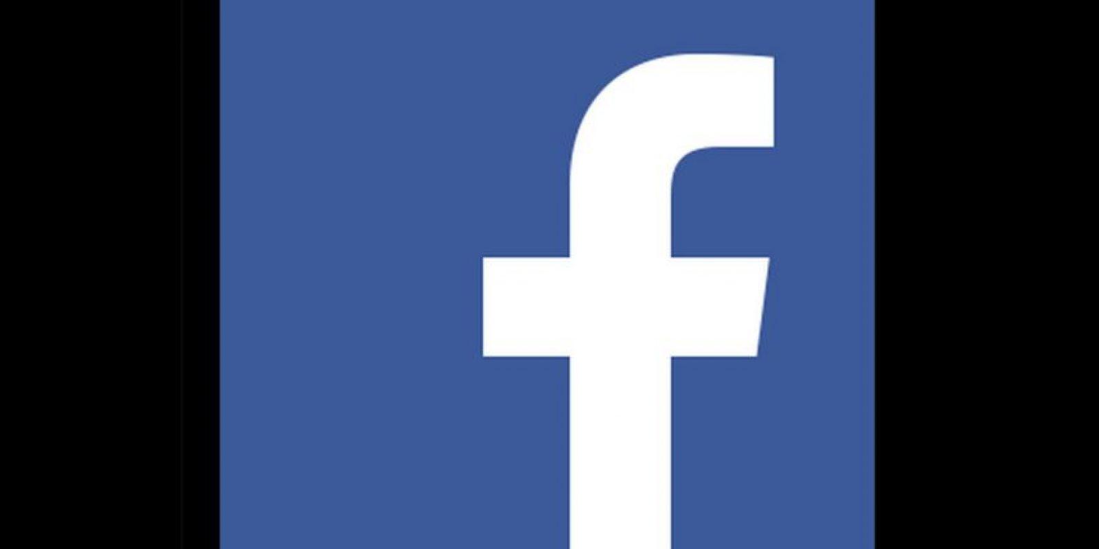 Ahora: Logo de Facebook Foto:Facebook