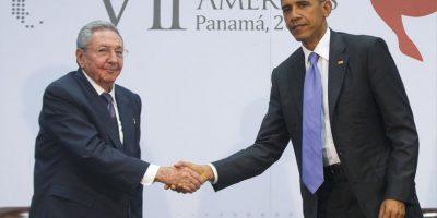 Fue el primer encuentro de dos mandatarios de estos países Foto:AP