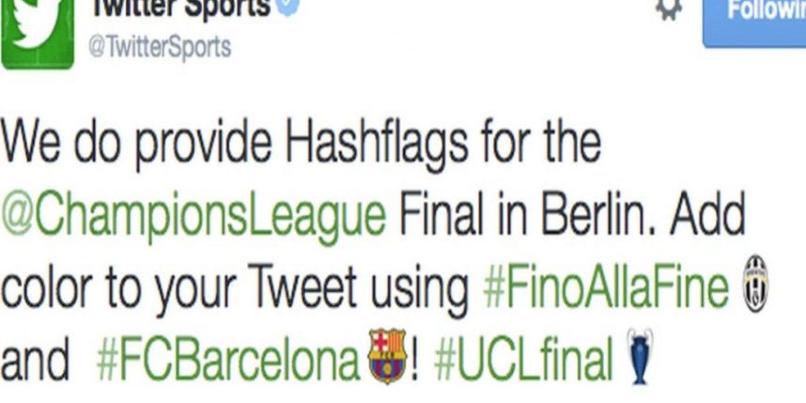 En la final de la UEFA Champions League 2015 podían apoyar al Barcelona o Juventus.