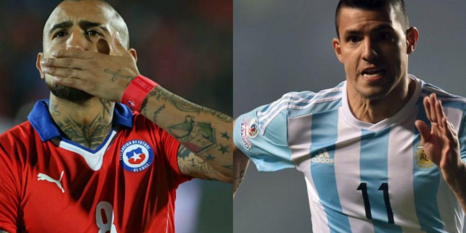 Chile y Argentina, los equipos con mejor funcionamiento, llegaron a la final de la Copa América. Foto:Getty Images/AFP