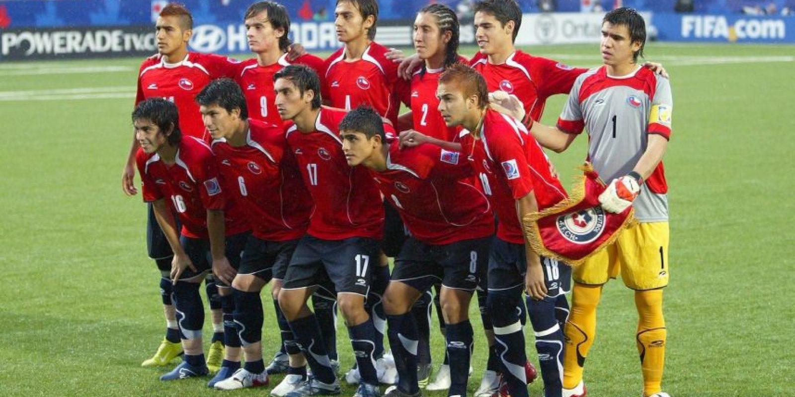 """Chile quiere revancha. Varios de los futbolistas que se enfrentarán en la final de la Copa América entre la """"Roja"""" y Argentina, ya se vieron las caras hace ocho años. Foto:Getty Images"""