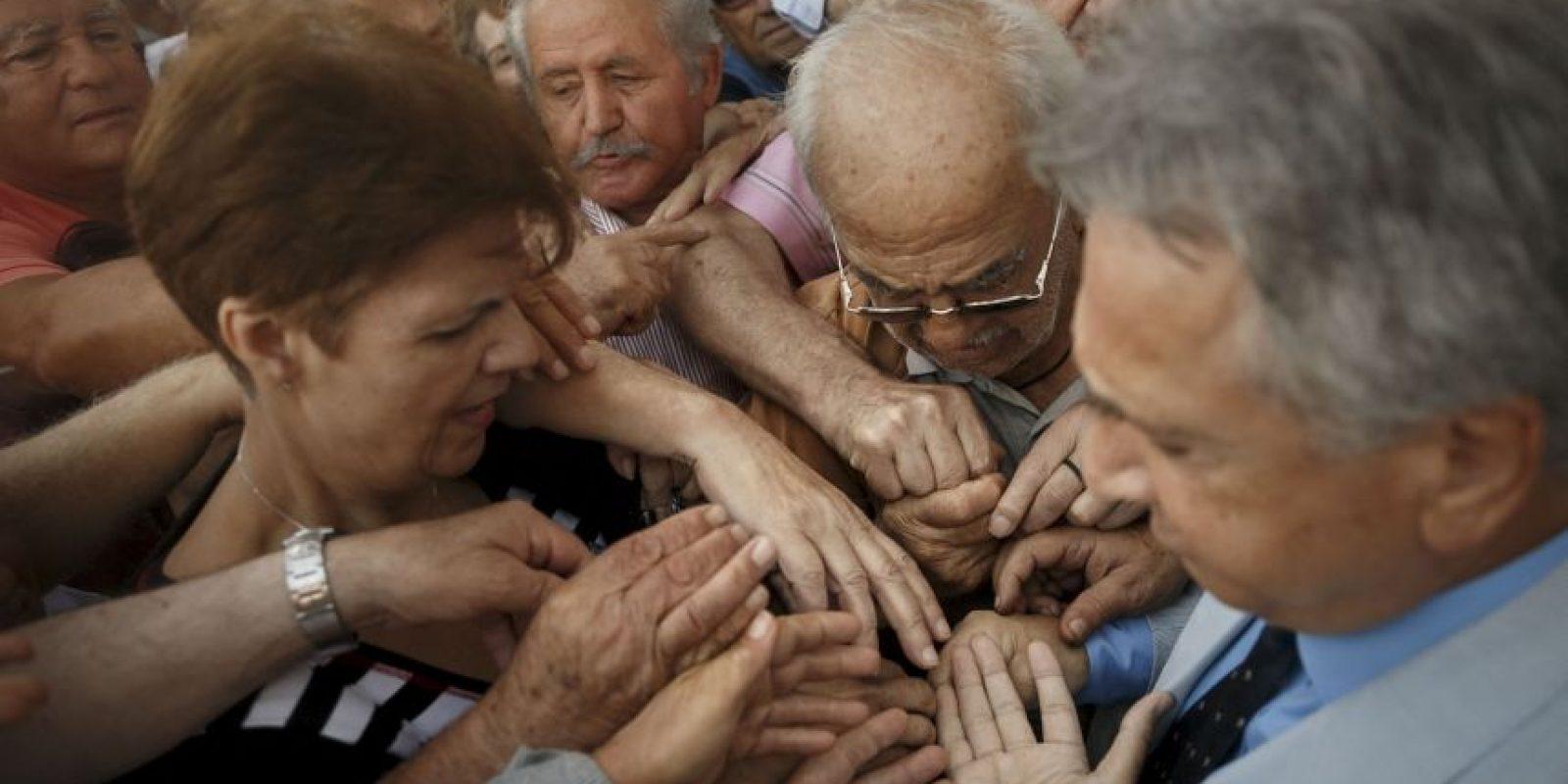 """3. Votar por el """"no"""" y tener una caótica salida de la zona euro Foto:AP"""