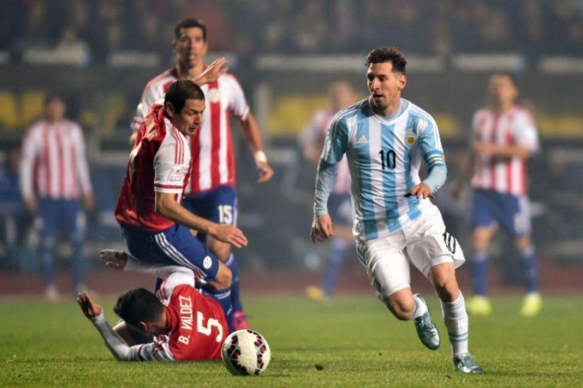 Es el mejor asistente con tres pases para gol Foto:AFP