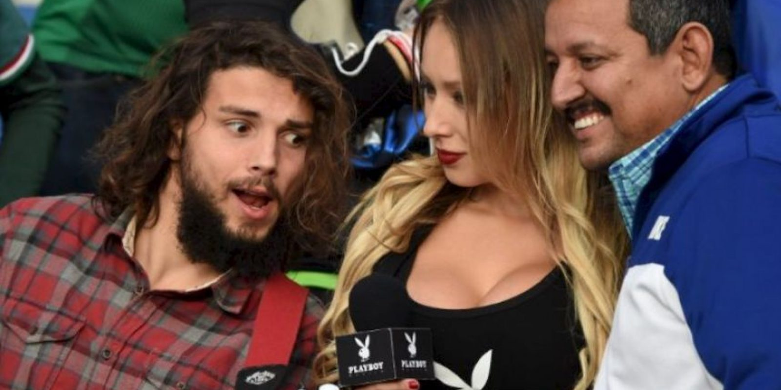 """Playboy la eligió como la """"Novia de la Copa América"""" Foto:Vía instagram.com/daniellachavezc"""
