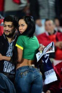 Se presentó a todos los partidos de la selección de Bolivia Foto:instagram.com/maiteflores395