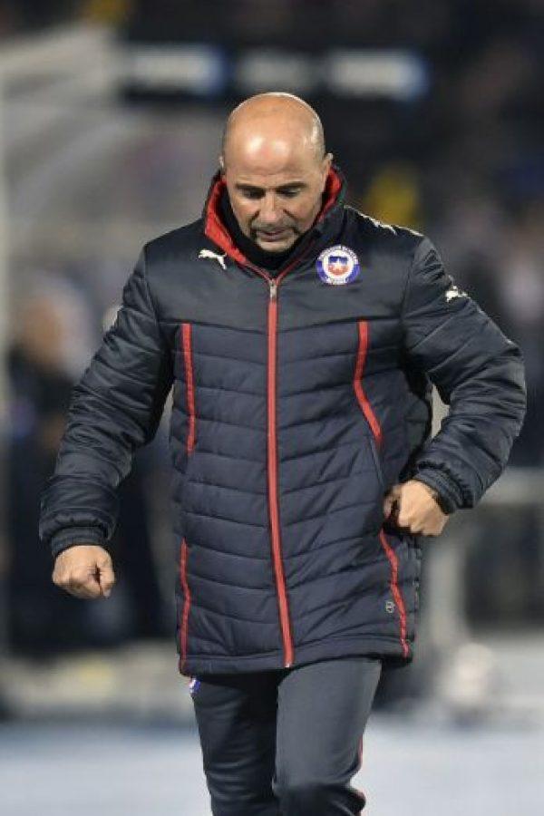 Jorge Sampaoli, DT de la selección de Chile Foto:AFP